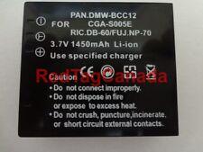 Battery for Panasonic DMW-BCC12 CGA-S005 CGA-S005A/1B 1450mAh - CANADA