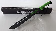 Black Savage Zombie Killer Living Dead Machete Zombie Apocalypse Sword