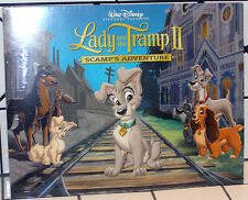 LADY AND THE TRAMP II Scamp's Adventure Disney 4 LITHOGRAPH PORTFOLIO - NEW!