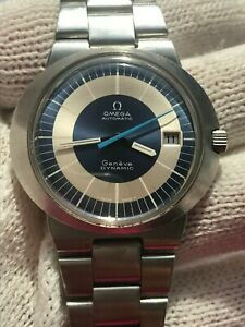 OMEGA DYNAMIC GENEVE AUTOMATIC DATE TOOL 107 MENS 41mm SWISS MADE