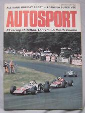 AUTOSPORT magazine September 2/9/1971