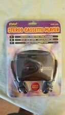 Stereo cassette player