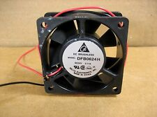 Delta Electronics DFB0624H  60mm x 60mm x 25mm 24V DC High Speed Cooling Fan