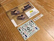 "Decal Renault 5 Turbo  Spanish Championship ""Renault Asturias"" 1/43 scale"