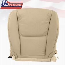 2007 Lexus GS350 Front Left `Driver Bottom Leather Perforated Seat Cover in Tan