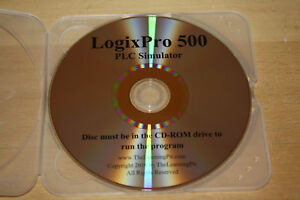 LogixPro 500 PLC Simulator CD-ROM Version