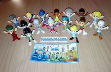 TEEN IDOLS COMPLETE SET OF 16 WITH ALL PAPERS KINDER SURPRISE 2017