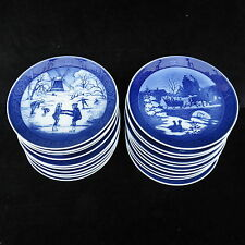 Royal Copenhagen Christmas Plates 1989 - 1999  Mint