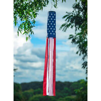 American Flag Windsock  Show United States Patriotic USA Windsock Practical