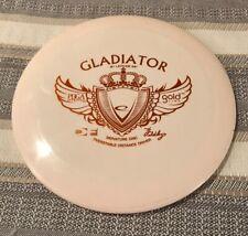 Latitide 64 Gladiator Gold Line DF Signature Disc Golf. 8/10. Ink On Rim. 175g