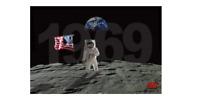 MOON LANDING - 50TH ANNIVERSARY - POSTER 24x36 - 36630