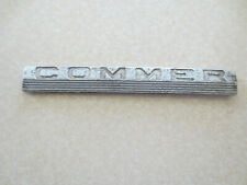 Original Commer truck / van badge / emblem -