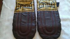 Vintage Everlast 4308 Leather Weighted Speed Bag Training Gloves Sparring Boxing