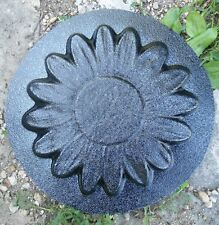 plastic  flower mold concrete plaster casting mold