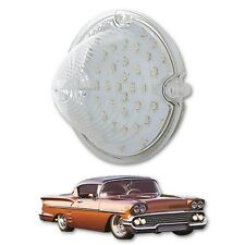 58 1958 Chevy Impala Bel Air Biscayne LED Front Clear Park Light Lamp Lens Each