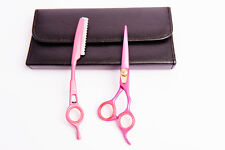 PROFESSIONAL HAIRDRESSING HAIR CUTTING THINNING SHEAR RAZOR BARBER SET 5.5""