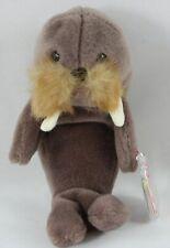 Ty Original Beanie Baby Jolly the Walrus Plush Stuffed Animal 1996 Pvc Pellets
