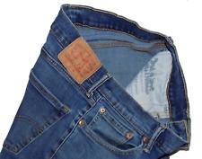 Levis Strauss 511 Indigo Stretch Slim Fit Mens Zip Fly Jeans 32W 32L