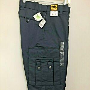 Propper Men's Critical Edge EMS EMT Navy Blue Pants Teflon High Quality Unhemmed