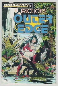 Outer Edge #1, BRUCE JONES, Science Fiction, Innovation 1993,  F/VF  r