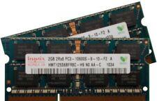 Memoria RAM Hynix per prodotti informatici con velocità bus PC3-10600 (DDR3-1333) da 2 moduli