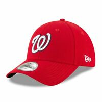 Washington Nationals New Era 9Forty Current Red The League Strap Back Hat