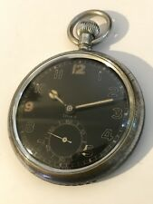 doxa pocket watch Military
