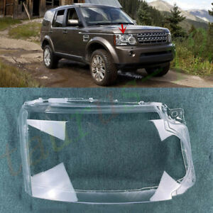 Right Side Headlight Cover Clear PC+Glue For Land Rover Discovery 4 2010-13