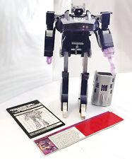 G1 1985 SHOCKWAVE • C8-9 • 100% COMPLETE • GENERATION ONE TRANSFORMER