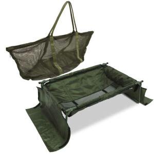 CARP CRADLE FISHING SLING SYSTEM + BAG CASE FISHING TACKLE UNHOOKING CRADLE NGT