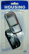 Nokia 6670 Mobile Phone Fascia/Cover/Housing Black & Red Colour
