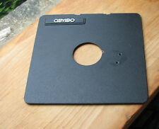 Cambo SC Monorail 10x8 5x4 lens board copal 1 41.7mm hole