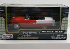 MOTOR MAX AMERICAN CLASSICS 1955 CHEVY BEL AIR 1:43 SCALE, NEW IN BOX!