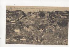 Ruines Fort de Loncin Magasin a Poudre Explose Belgium Vintage Postcard 198b