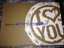 Kim Jaejoong Love Letter Photobook Notebook Cards NEW KPOP JYJ TVXQ Tohoshinki