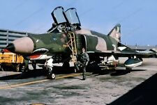 8x10 Print Mcdonell Douglas F-4 Phantom II 469th Squadron 1970 #FS9393