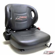 New Molded Toyota Forklift Seat With Seatbelt & Switch Premium Quality! Belt