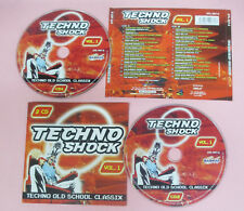 CD Compilation Doris Norton/Rexanthony Techno Shock Vol.1 no lp mc vhs dvd(C41)