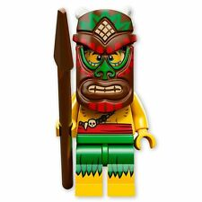 NEW LEGO MINIFIGURES SERIES 11 71002 - Tiki (Island) Warrior