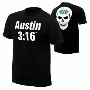 Stone Cold Steve Austin 3 16 Retro S-4XL Black T-Shirt.