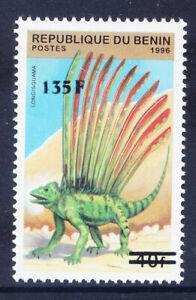 BENIN 2000 Michel 1246 40fr Prehistoric Lizard surcharged 135fr u/m. Cat euro200