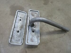 1962 Rambler Classic six cylinder engine motor side cover panel breather tube