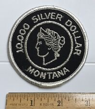 10,000 Silver Dollar Montana MT Morgan Dollar Liberty Embroidered Patch