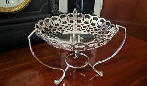 Antique Sterling Silver Bon Bon Dish Birmingham 1905