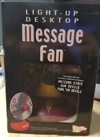 Arizona State Sun Devils Fork Em Devils Desktop Message Fan Brand New