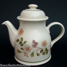 1990's Marks & Spencer Autumn Leaves Pattern 2.75 Pt Teapot & Lid Looks in VGC