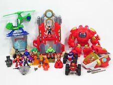 Marvel Super Hero Adventures Iron Man Armor Fortress Starship Playskool Figures