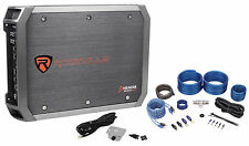 New Rockville RXD-M1 2000 Watt/1000w RMS Mono 1-Ohm Car Amplifier+Amp Wire Kit