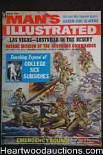 Man's Illustrated Nov 1962 Norman Saunders Int. Bondage/Whipping Art - Ultra Hig