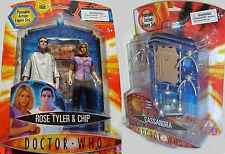 Doctor Who 2006/5 serie 2 Rosa & Chip + Wave 1 Cassandra & 3 Arañas Robot-Nuevo